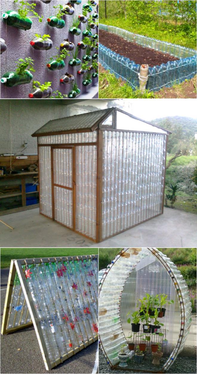 Что можно сделать из крышек от пластиковых бутылок для дачи и дома