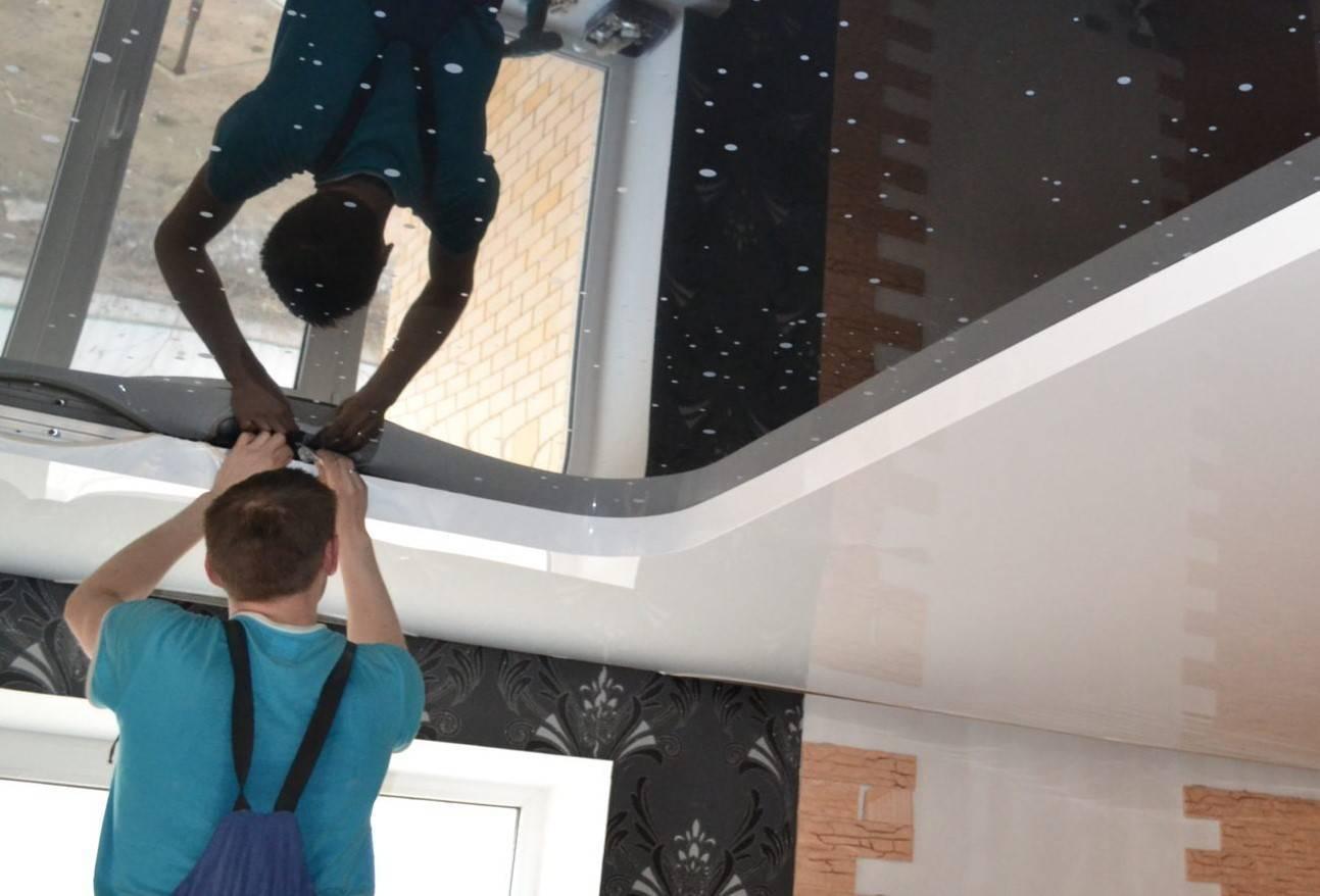 Как подготовить комнату под натяжной потолок: что нужно сделать перед установкой