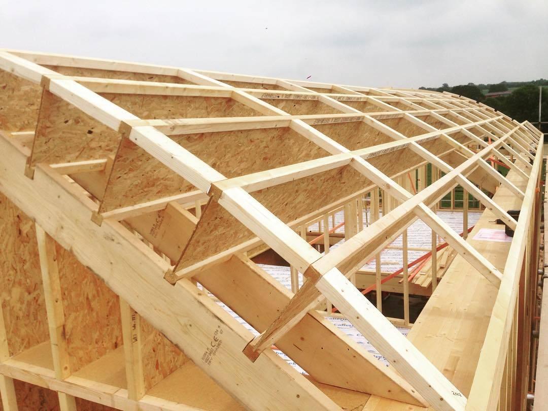 ?что собой представляют деревянные двутавровые балки перекрытия - блог о строительстве