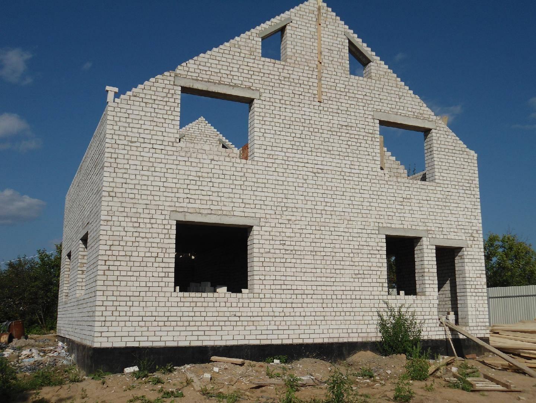 Дом из силикатного кирпича |