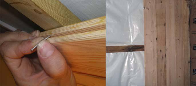 Как правильно крепить имитацию бруса - внутри и снаружи дома