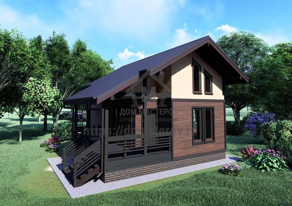 Проекты дачных домиков для 6 соток: фото, интересные идеи