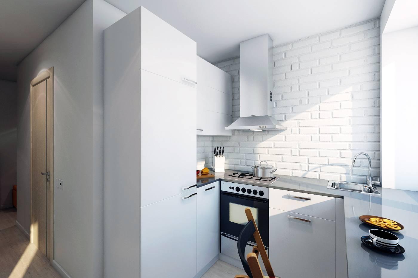 Ремонт кухни в хрущевке: 58 фото идей дизайна