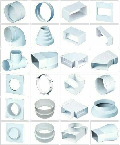 Трубы для вытяжки — выбор пластиковых вентиляционных труб