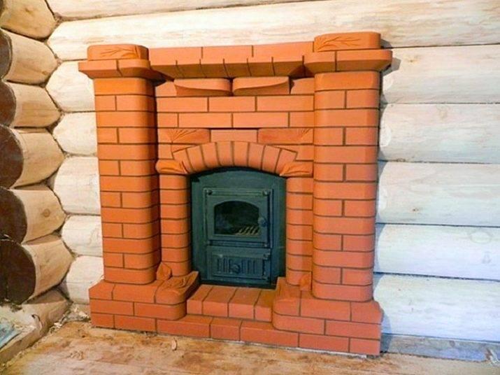 Декоративная отделка камина: 8 материалов для облицовки камина + фото | строительный блог вити петрова