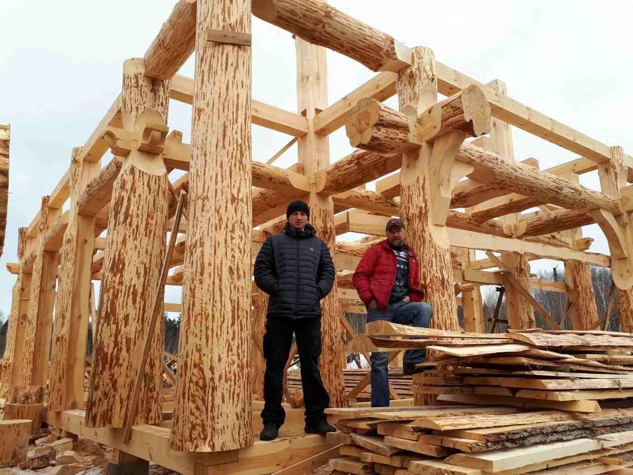Как построить рубленый дом: все этапы от заказа доотделки