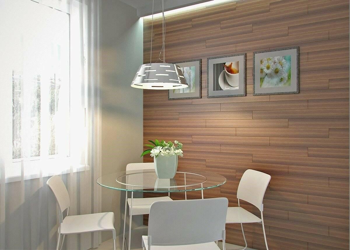 Отделка стен на кухне: 13 лучших вариантов