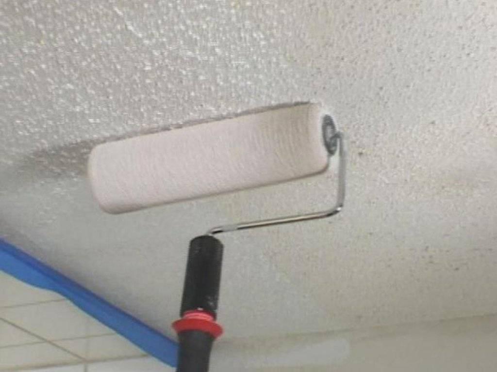 Тонкости и хитрости при покраске потолка водоэмульсионной краской: 33 фото