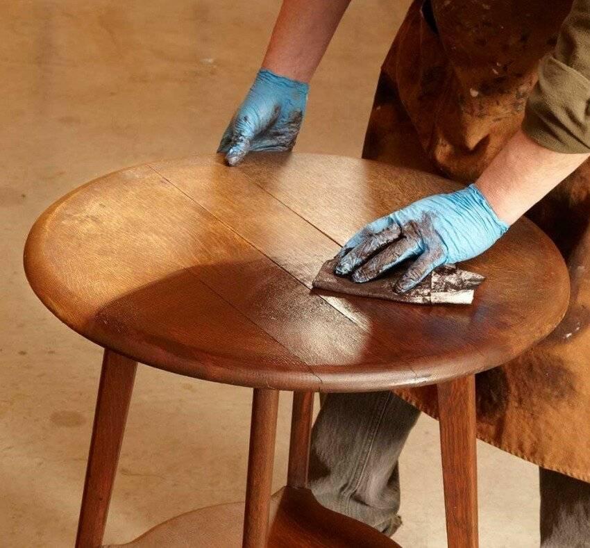 Ремонт шпонированной мебели своими руками