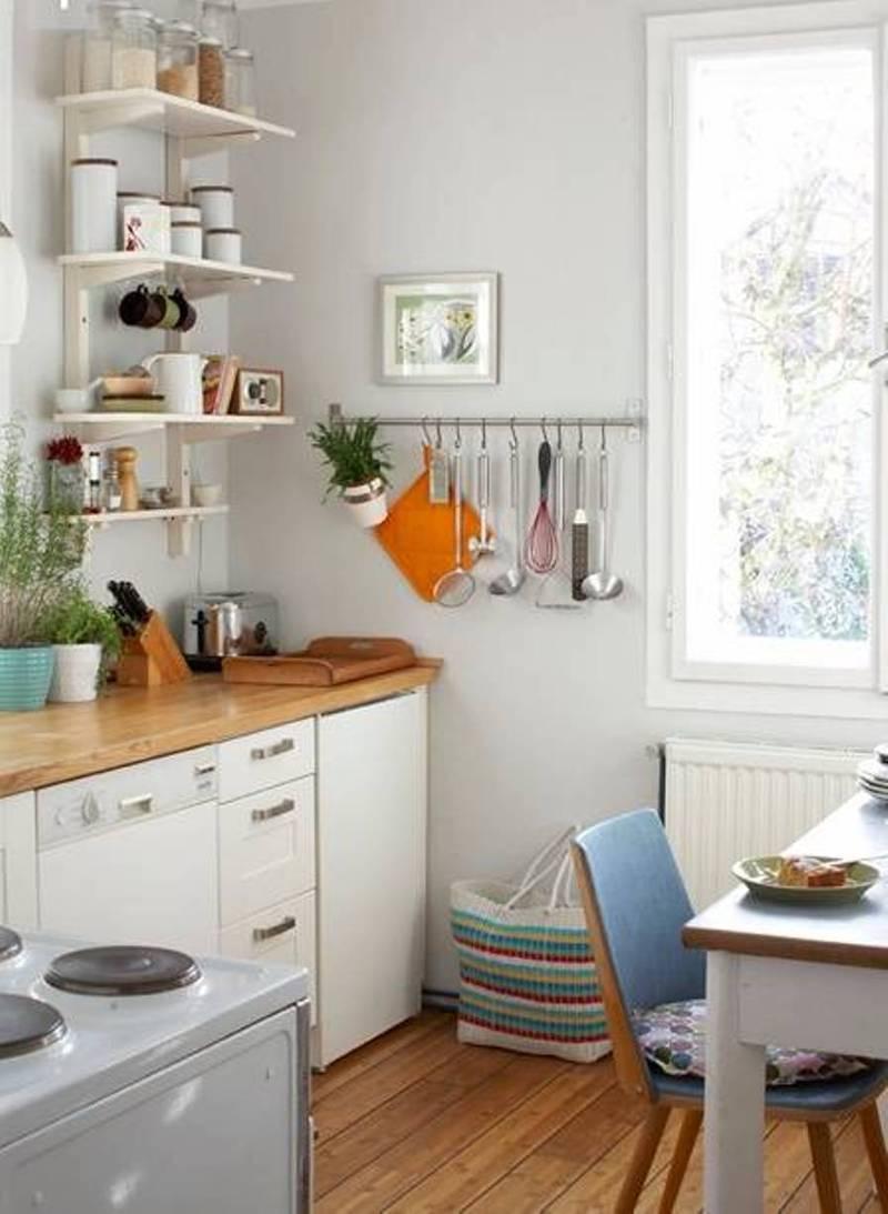 Дизайн кухни маленькой площади - идеи для расширения интерьера