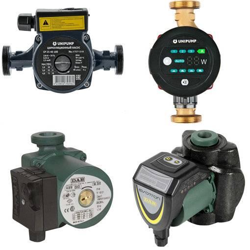 Циркуляционные насосы для систем отопления: выбор, установка, схема