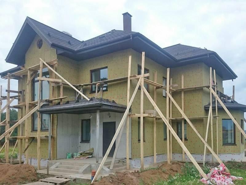 Монолитный пенобетон: строительство дома