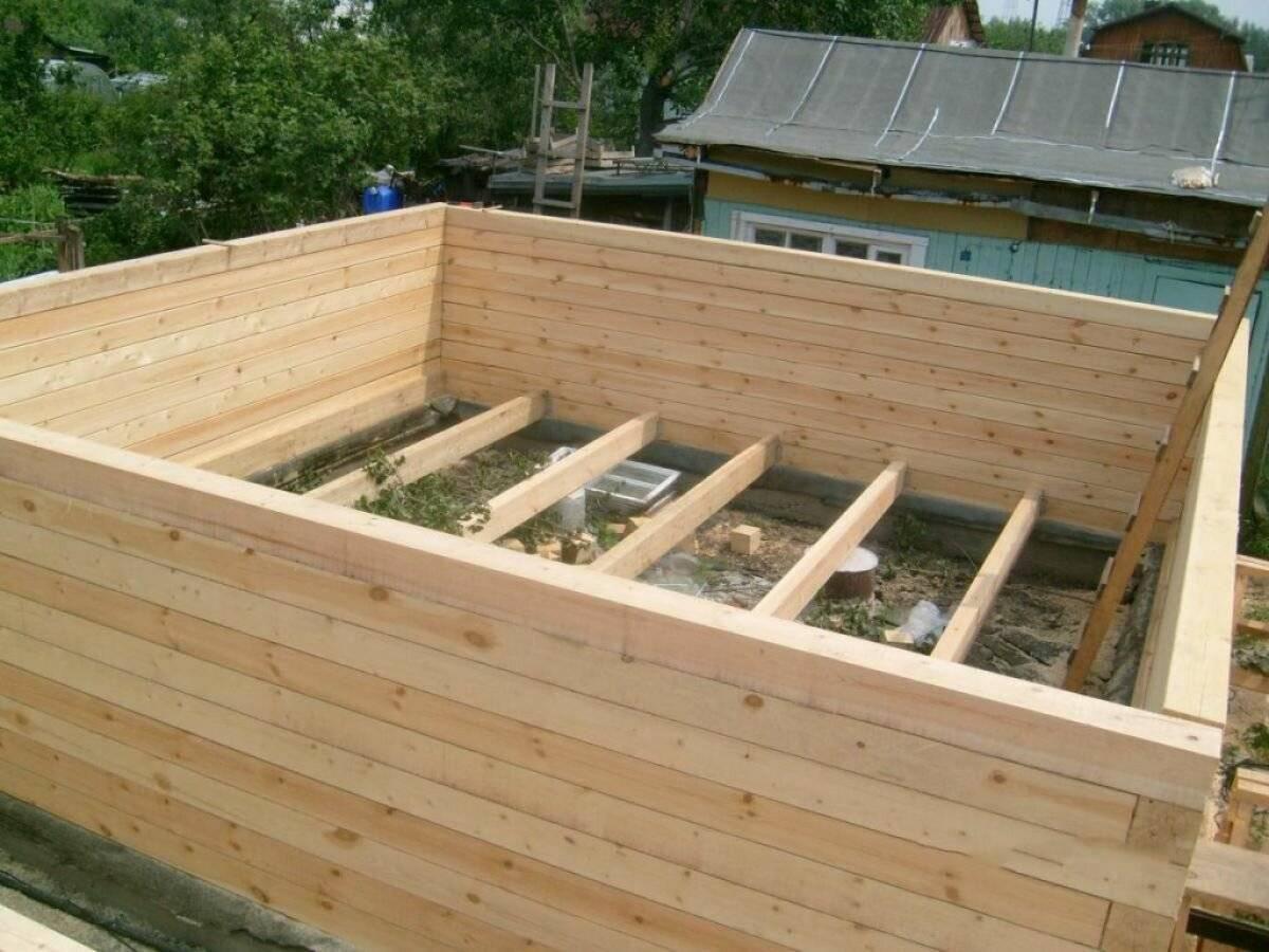 Как построить в одиночку бюджетный дом из бруса: антикризисное решение