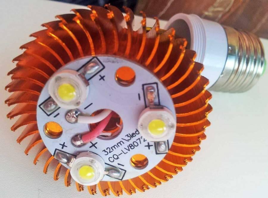 Ремонт светодиодных светильников: как починить лед-лампу