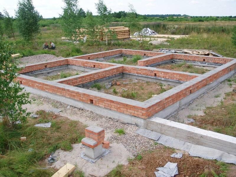 Начальные этапы строительства дома на своем участке в 2020 году