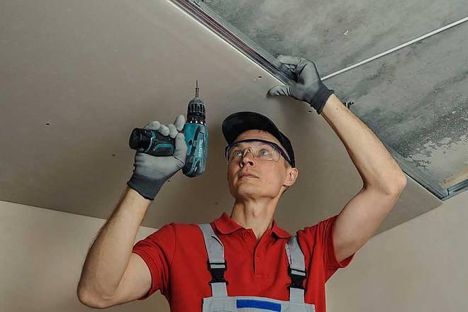 Чем отличается натяжной потолок от подвесного и что лучше