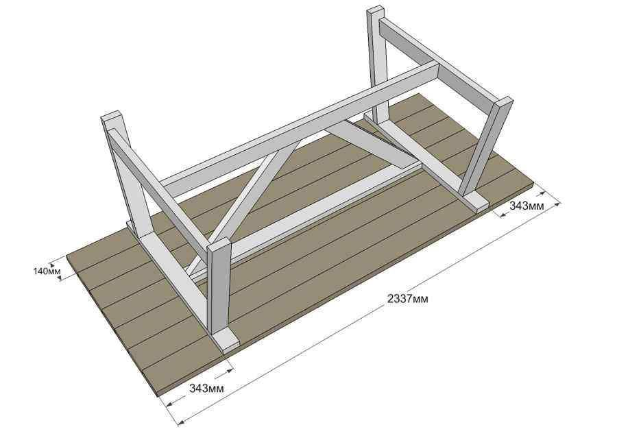 Стол для дачи: советы по выбору лучших моделей и особенности их применения на участке (150 фото и видео)