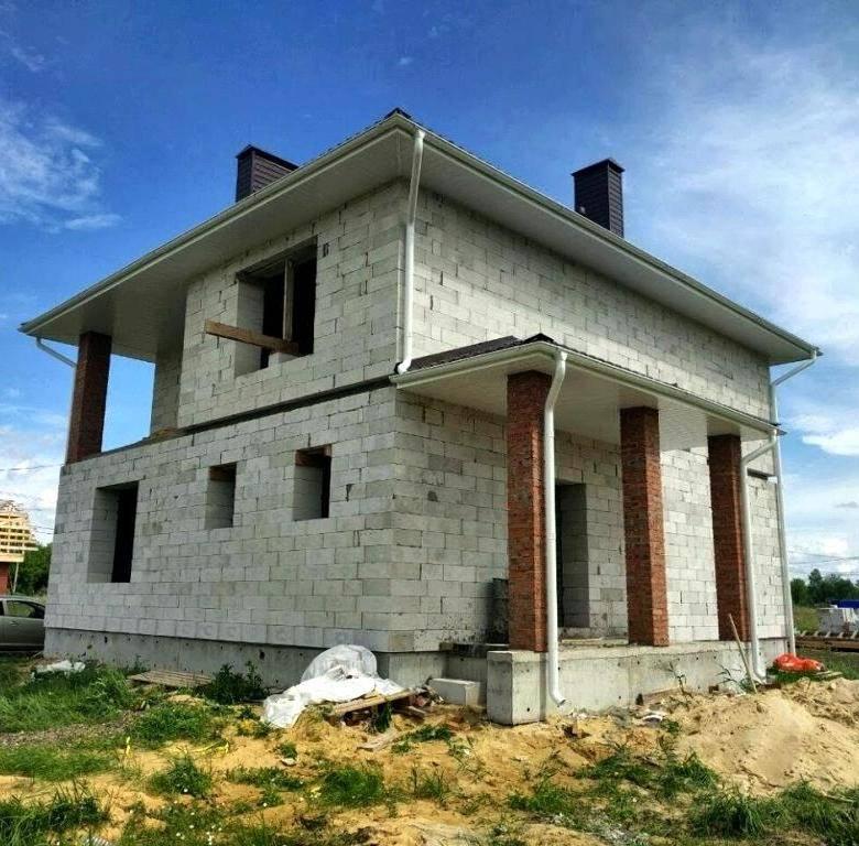 Как построить дом из газобетонных блоков: особенности материала, технология укладки, советы
