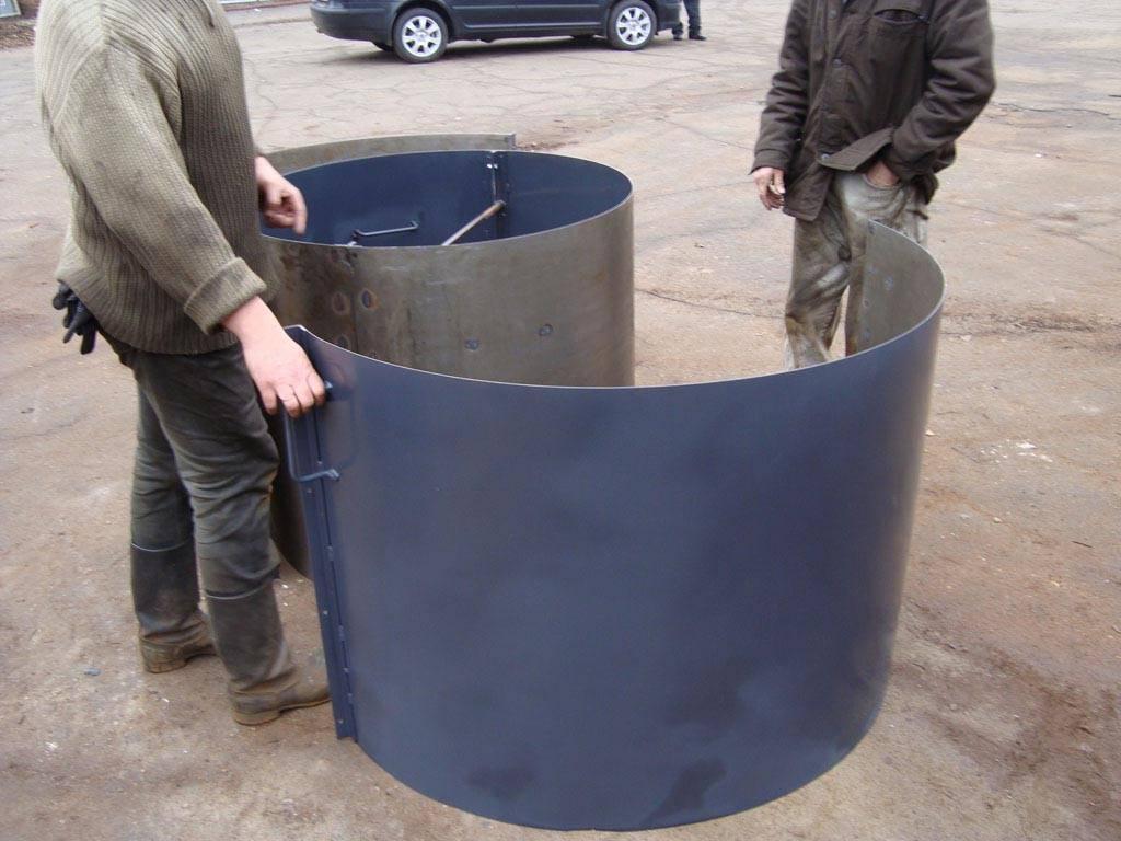 Технология изготовления бетонных колец - строитель