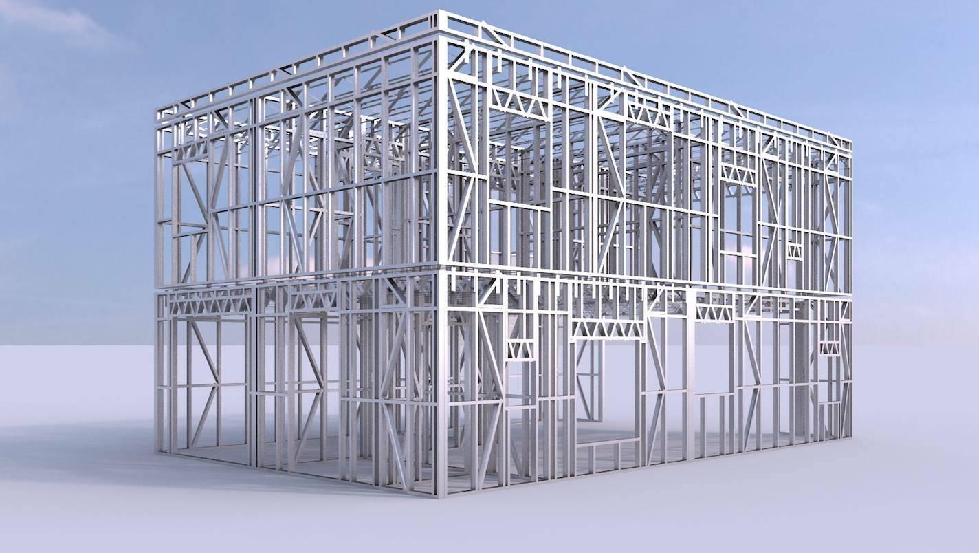 Каркасный дом из металлопрофиля: преимущества и недостатки конструкций