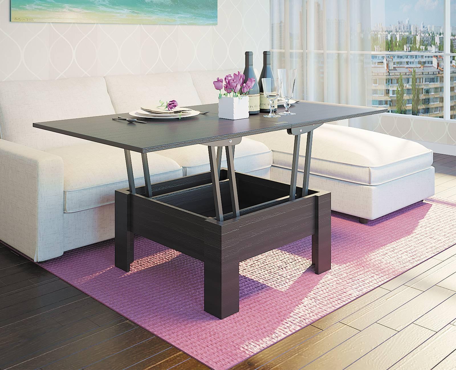 Мебель трансформер — современные варианты дизайна для малогабаритной квартиры (111 фото-идей)