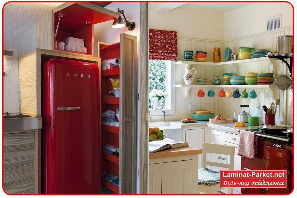Дизайн маленькой кухни 2017