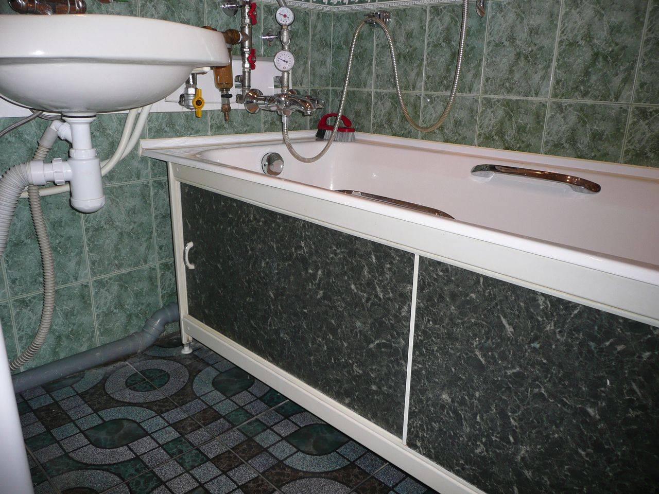 Как сделать экран под ванну своими руками – варианты конструкций, правила крепления, монтажа, установки