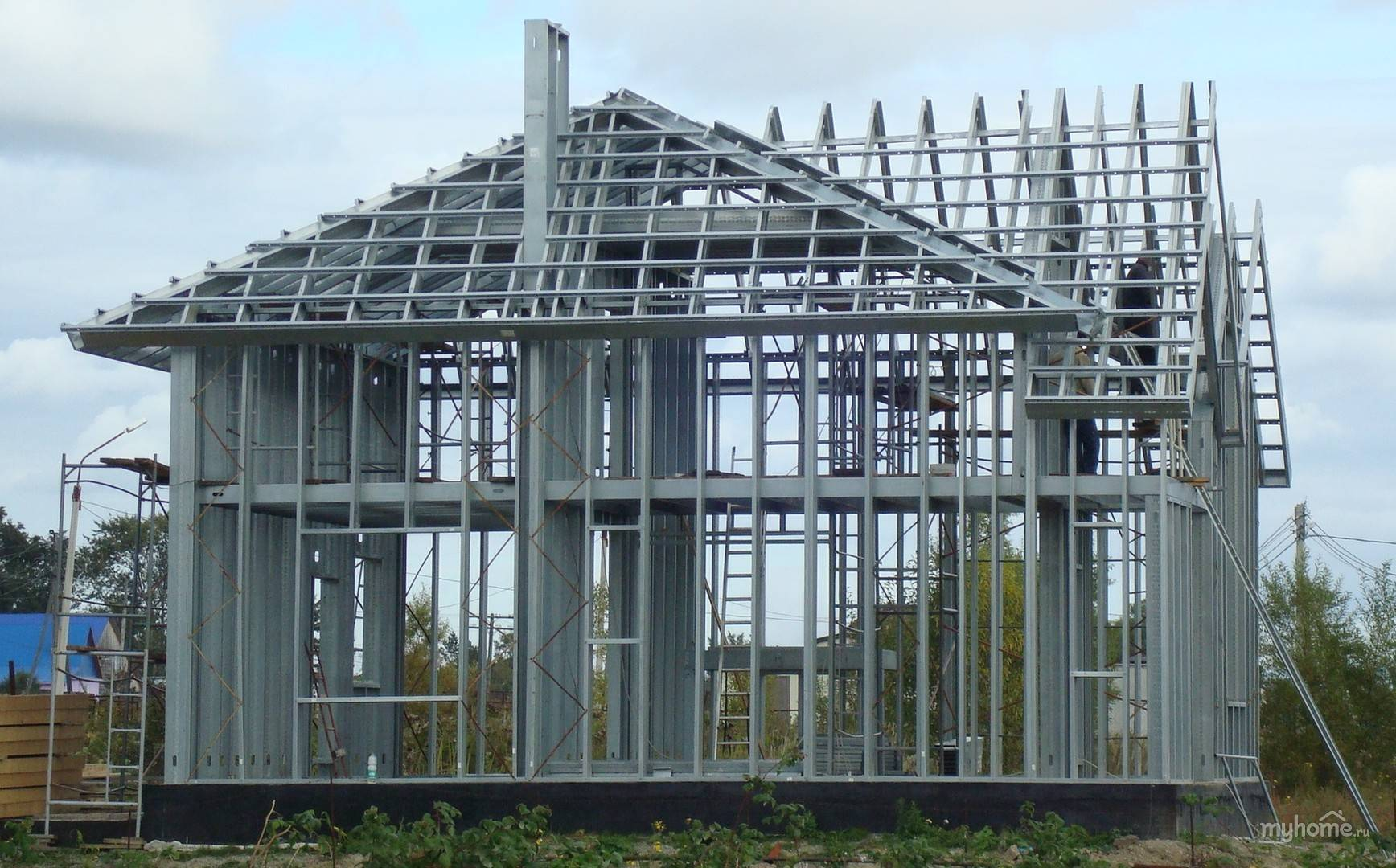Строительство домов под ключ по технологии лстк