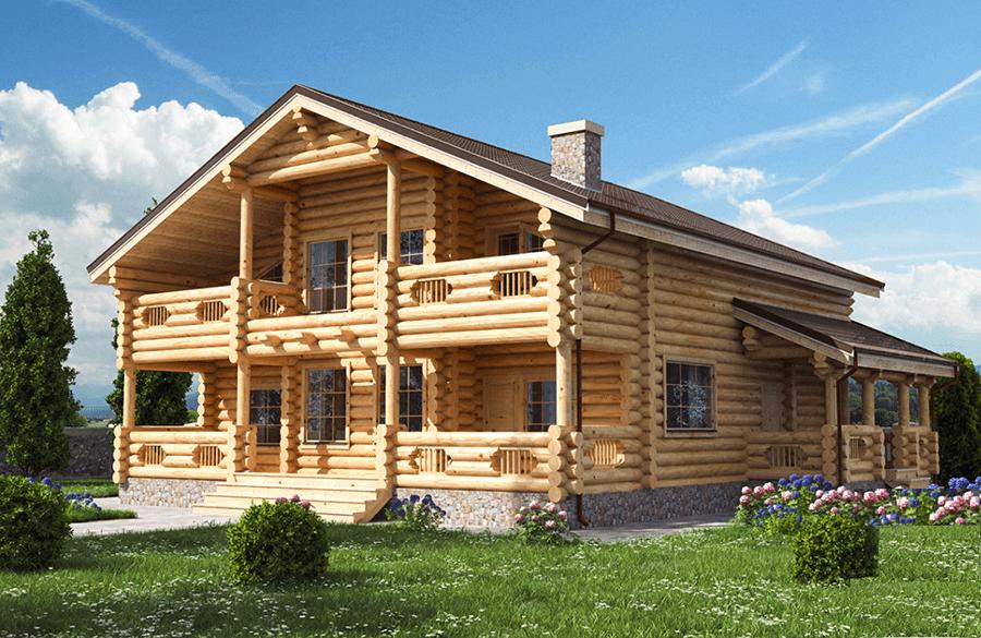 ?технология возведения домов из оцилиндрованных бревен - блог о строительстве