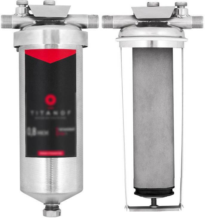 Титановый фильтр для воды титанов: обзор и отзывы - vodatyt.ru