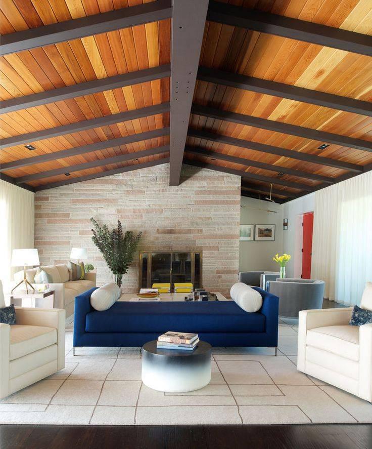 Чем отделать потолок в частном доме: варианты и виды, какие лучше и фото