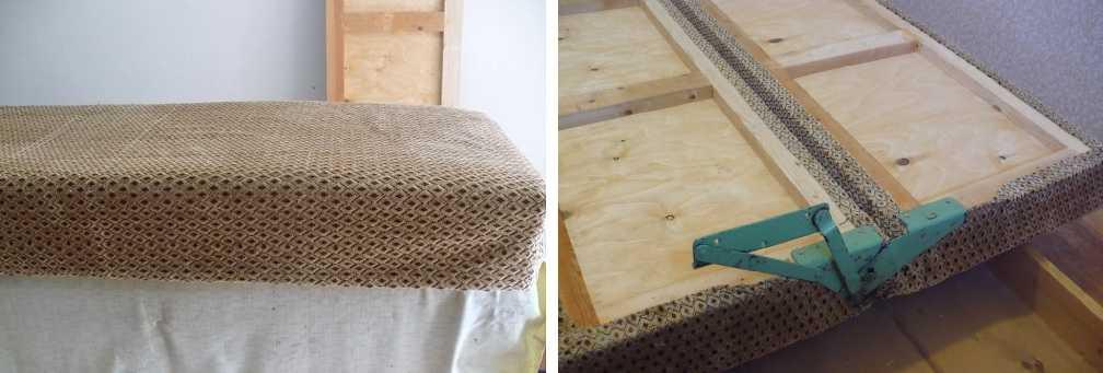 Перетяжка дивана, материалы, инструменты, выбор дизайна, особенности