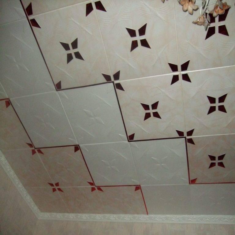 Как помыть потолок из плитки пенопласта