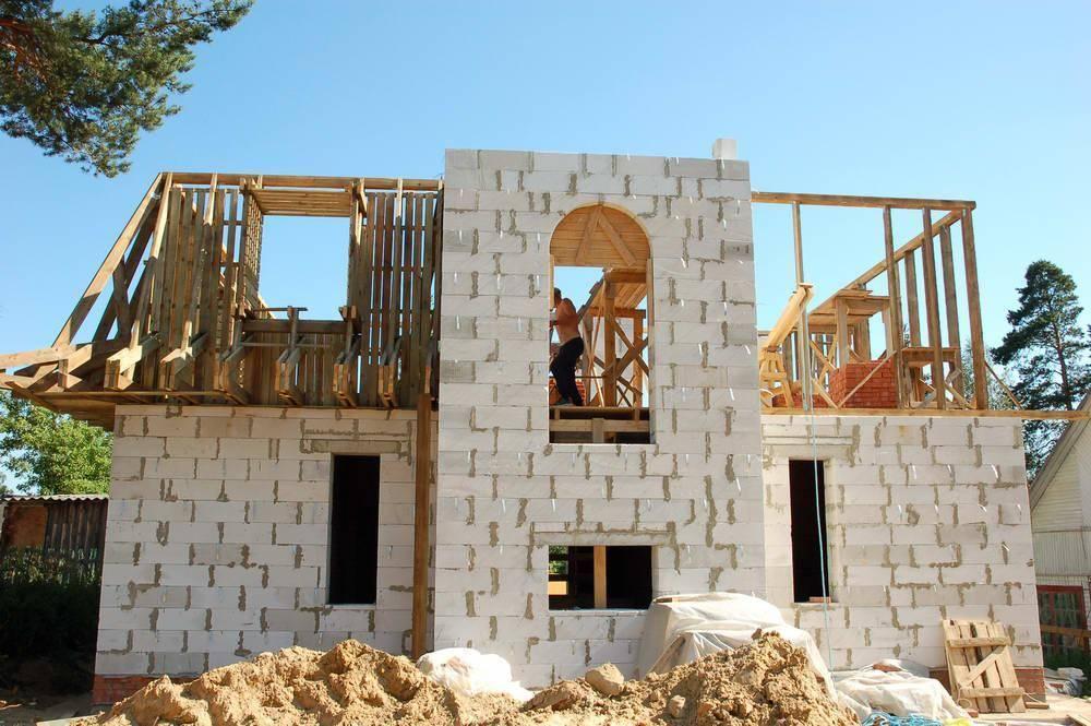 Как построить дом из газобетона своими руками? пошагово, фото