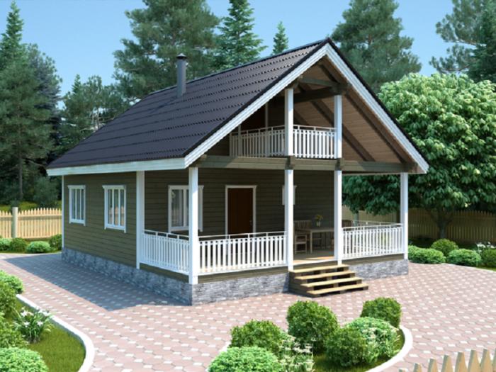 Строительство дачного домика — проектирование и возведение простых и красивых домов (95 фото + видео)