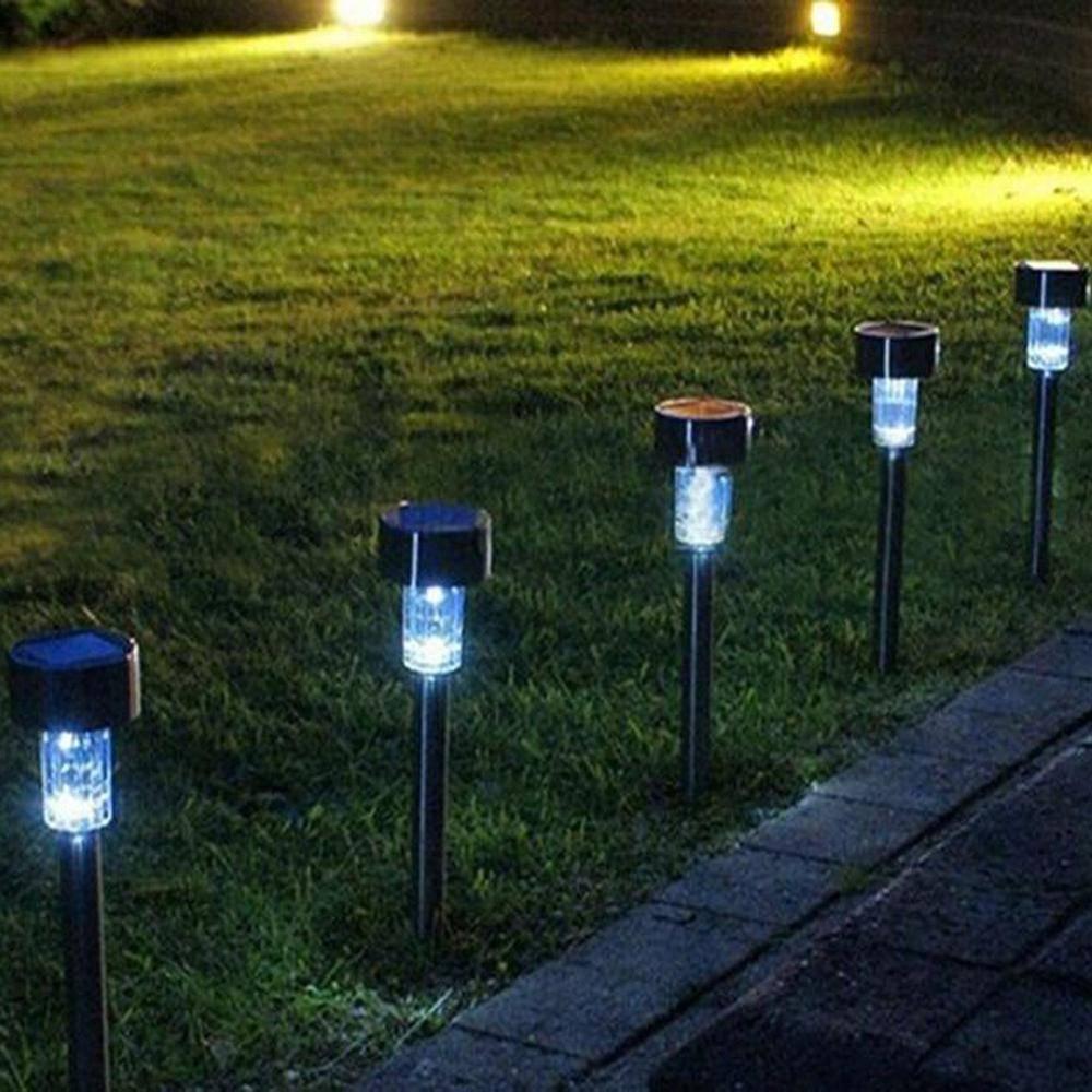 Как сделать наружное освещение во дворе частного дома