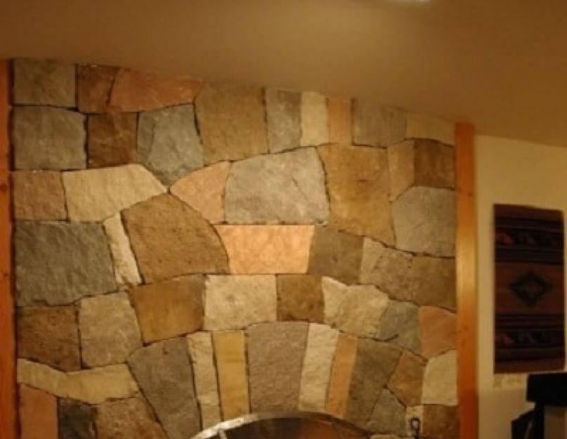 Отделка камина декоративным камнем: эффектные примеры и советы по оформлению