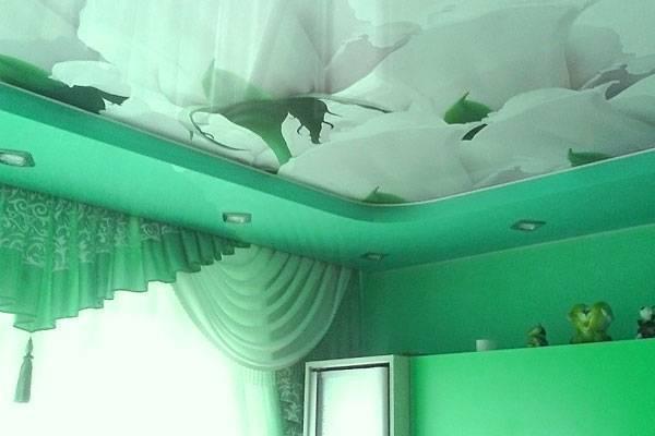 Какой потолок лучше: гипсокартонный или натяжной?