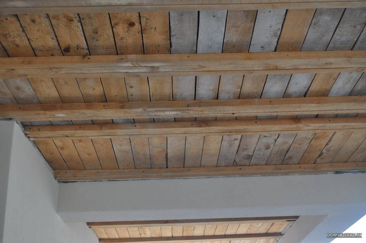 Потолок из фанеры своими руками (8 фото)