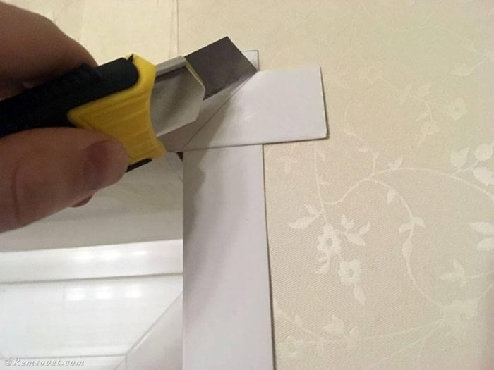 Декоративные уголки для стен: пластиковые, металлические, прозрачные и силиконовые