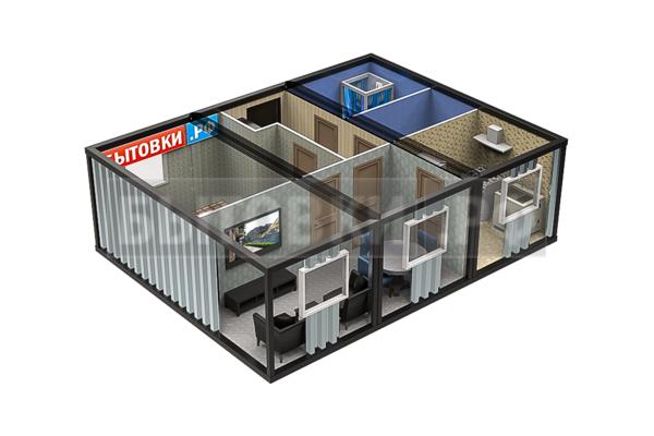 Модульные дома для круглогодичного проживания из блок контейнеров