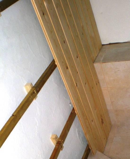 Как обшить балкон вагонкой: подробный инструктаж