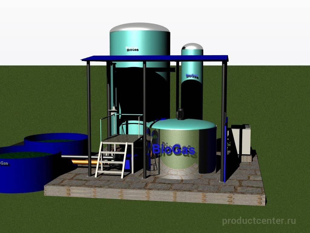 Как монтируется биогазовая установка своими руками