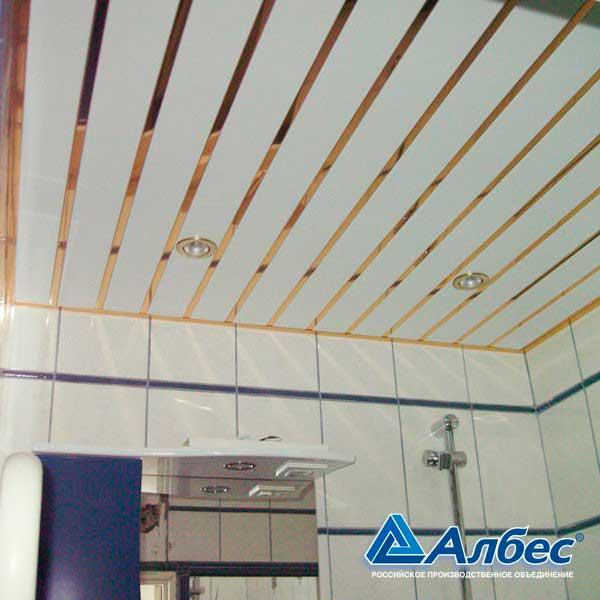 Навесной потолок в ванной комнате — пошаговая инструкция