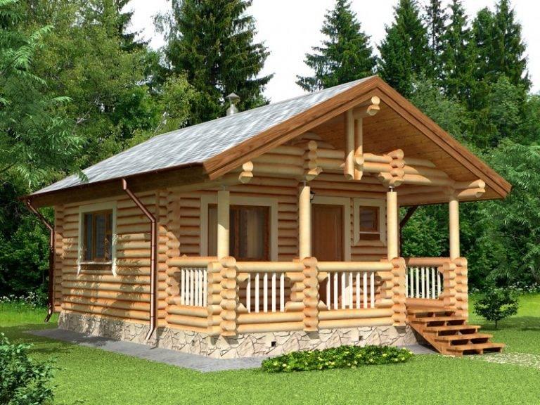 Дома из оцилиндрованного бревна: особенности строительства, плюсы и минусы
