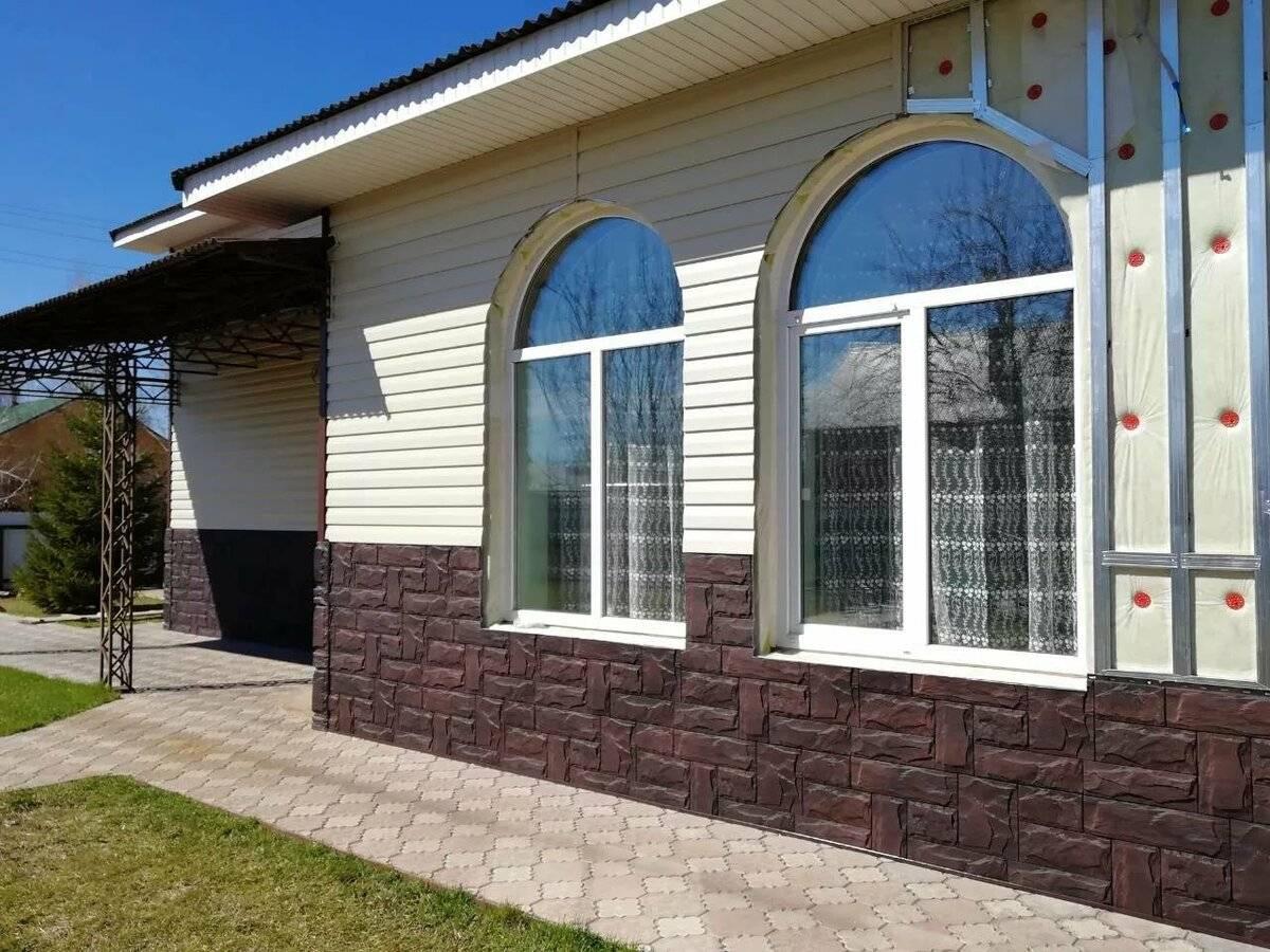 10 материалов для отделки фасада частного дома | строительный блог вити петрова