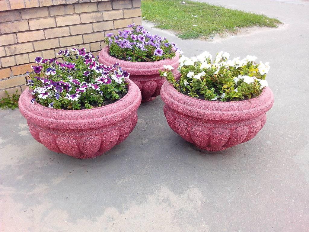 Как сделать своими руками уличные вазоны для цветов