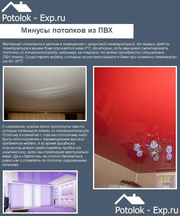 Что лучше подвесной или натяжной потолок: особенности и отличия   в чем разница