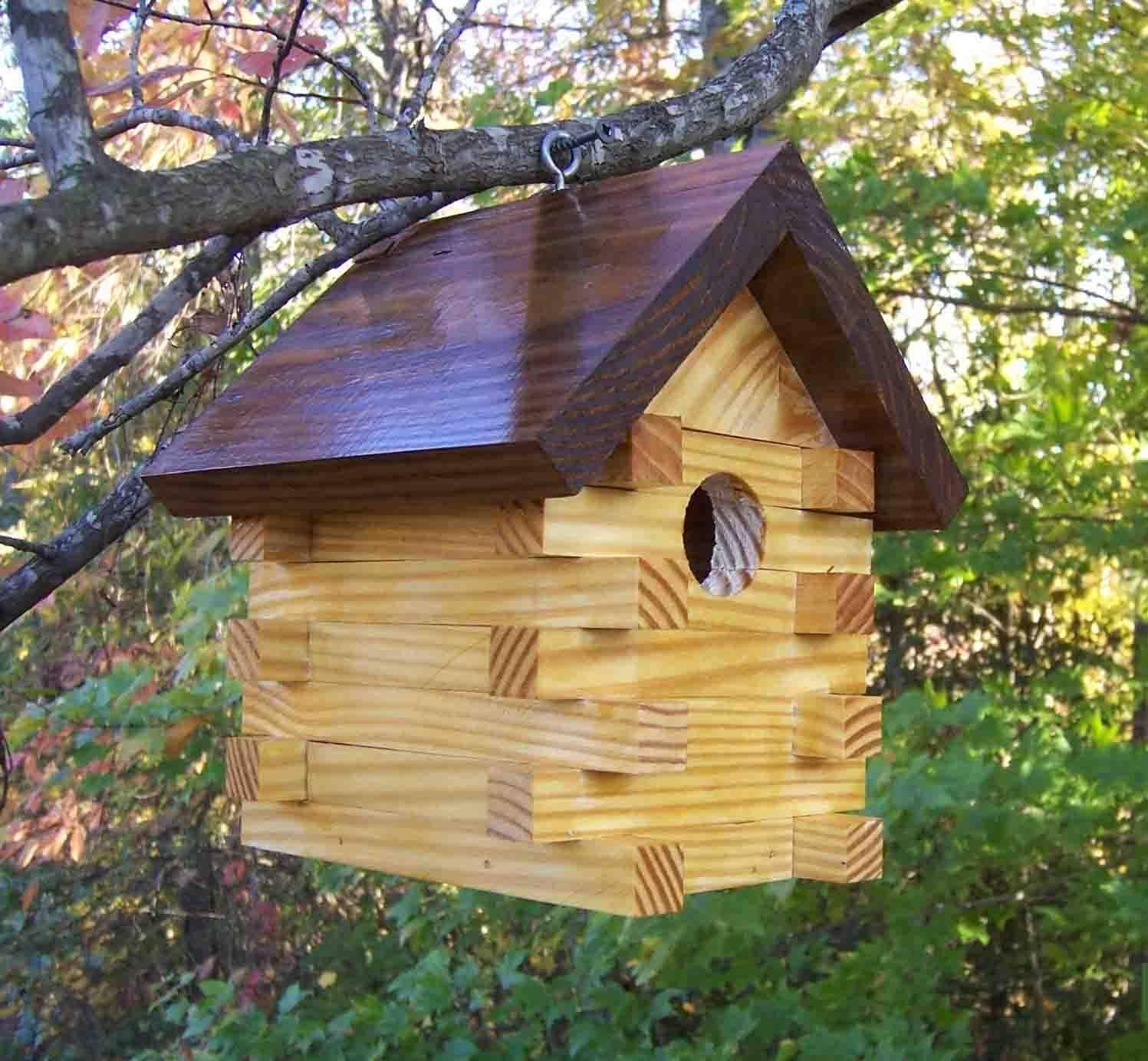 Скворечник своими руками из дерева для скворцов и мелких полезных птиц