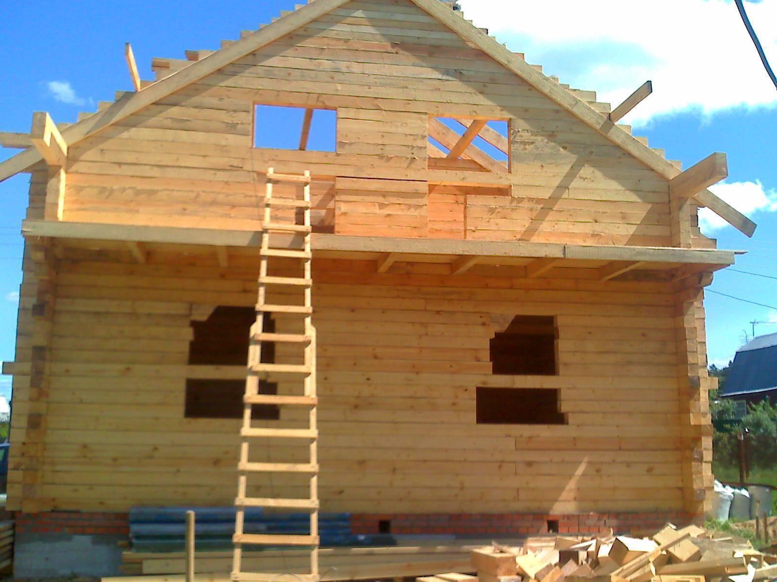 Как самостоятельно построить дом из бруса: подбор материалов, проектирование, технология постройки